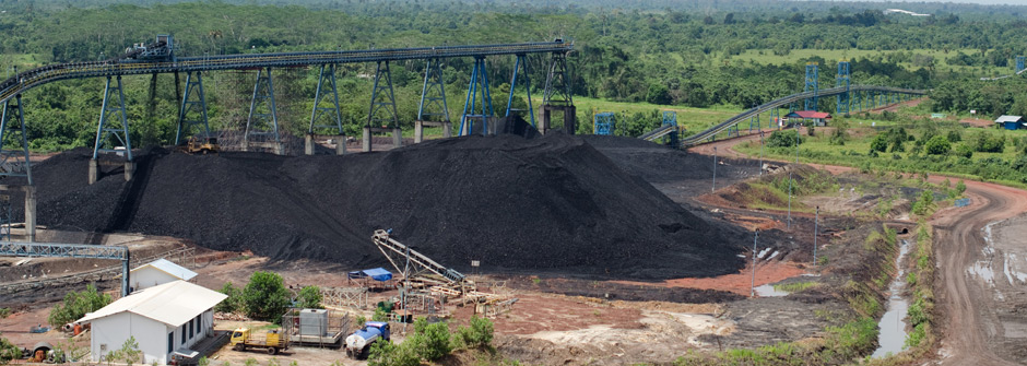 Coal Processing Center - Main Stockpile